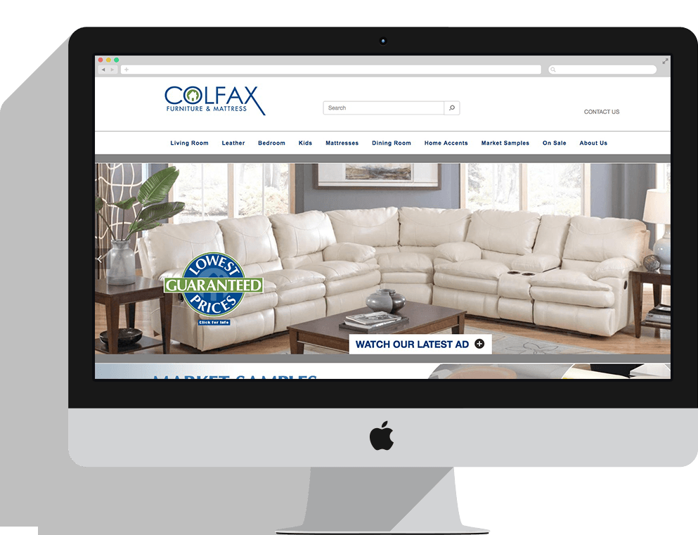 Colfax Furniture Responsive Web Site