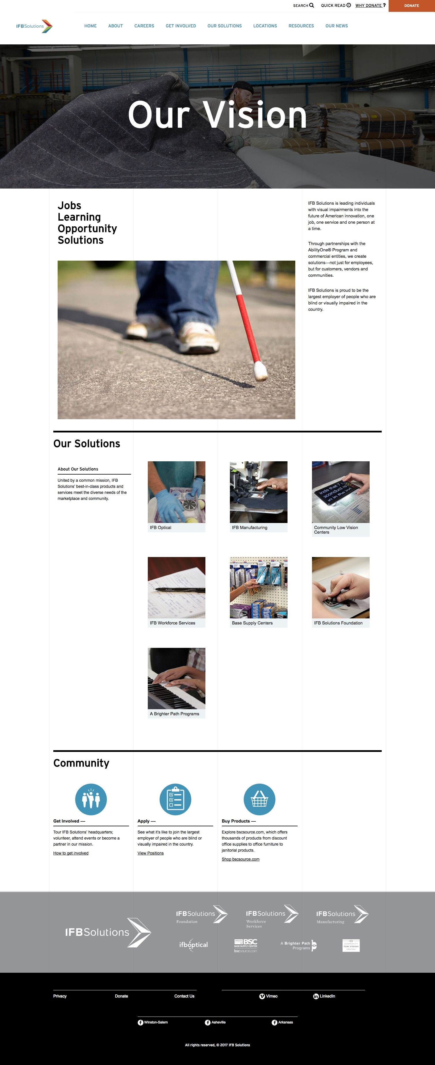 IFB Solutions Home Page