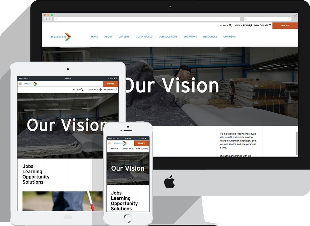 IFB Solutions Responsive Web Development